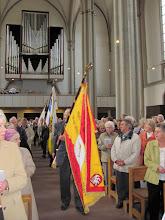 Photo: Fahneneinzug zum Ostdeutschen Gottesdienst in St. Aegidien