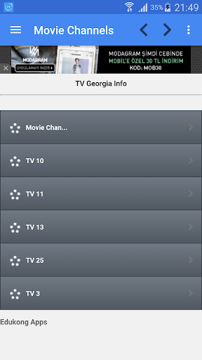 TV Georgia All Channels