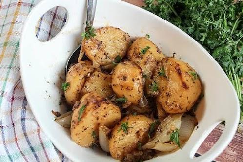 Lemon & Lime Roasted Red Potatoes