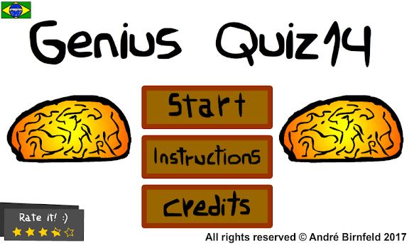Genius Quiz 14