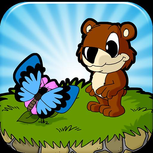 儿童动物园泰迪熊游戏 冒險 App LOGO-硬是要APP
