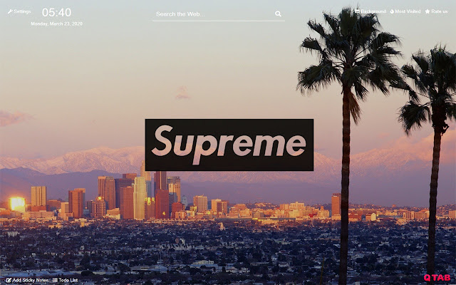 Supreme Wallpapers Hd For New Tab