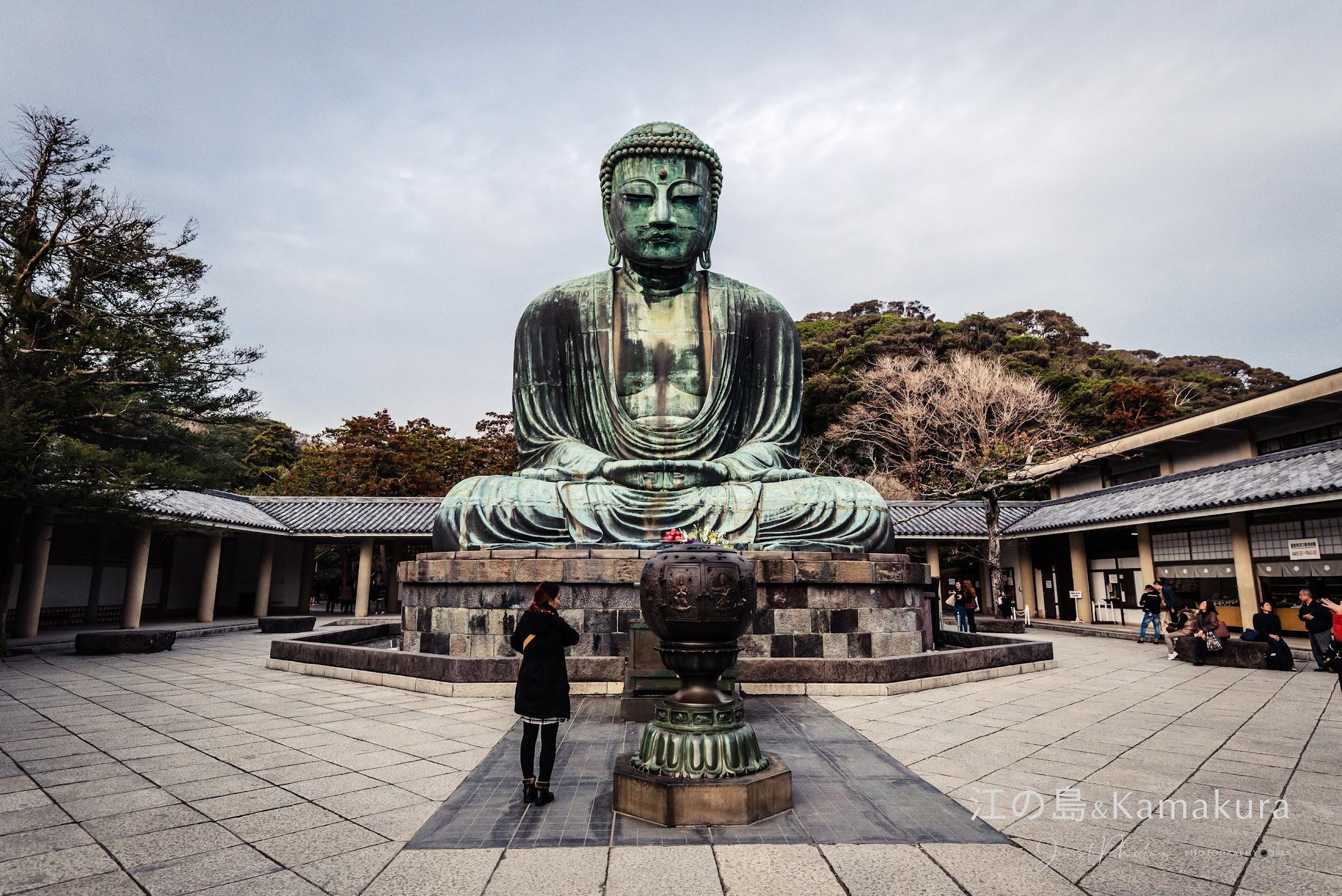 高德院的「鎌倉大佛」聞名日本國內外。