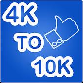 Tải Game 4K to 10K Liker