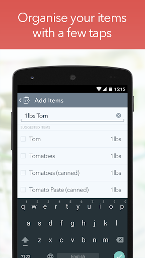 My Grocery List - Shop & ToDo screenshot 2