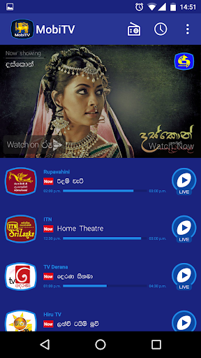 MobiTV - Sri Lanka TV Player 3.0.13 screenshots 1
