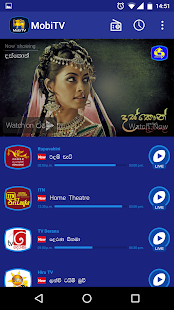 MobiTV - Sri Lanka TV Player- screenshot thumbnail