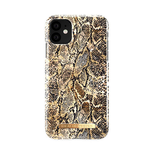 Mobilskal. iDeal of Sweden Gold Gecko iPhone 11 Pro