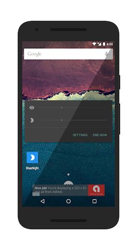 bluenight - screen filter screenshot 2
