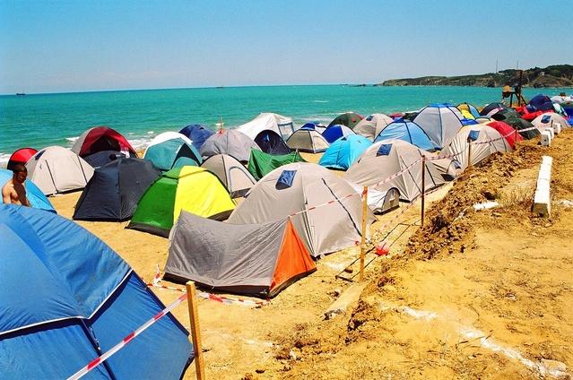 Kampiranje s šotori