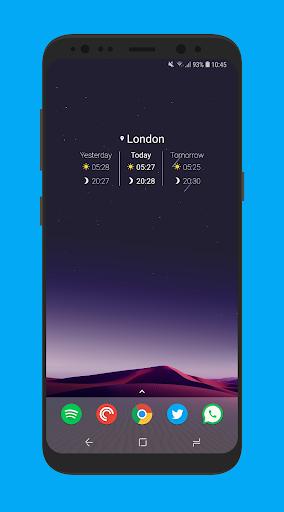 Sunrise Companion: Sunrise and Sunset Times 2.1.7 Screenshots 8