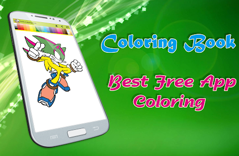 Download Free Sonica Coloring Book For PC On Windows And Mac Apk Screenshot 1