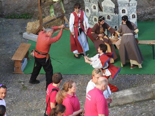 タラスク祭り初日の城内