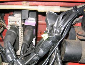 Photo: Steuergerät der Gasanlage und der Motorelektronik