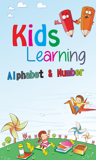 Kids learning Alphabet