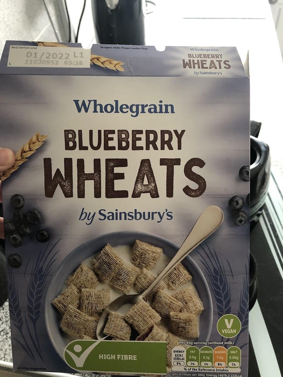 Wholegrain Blueberry Wheats