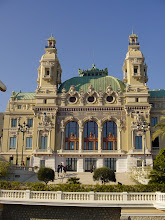 Photo: The Opera House near the Casino was designed by Charles Garnier, who also built the Paris Opera.