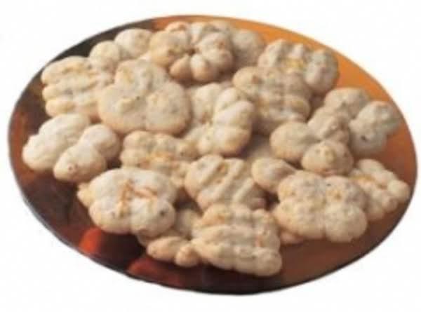 Fresh Orange Spritz Cookie (wilton) Recipe