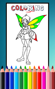 Download How To Color Winx Club Game For PC Windows And Mac Apk Screenshot 5