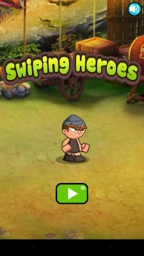 Swiping Heroes