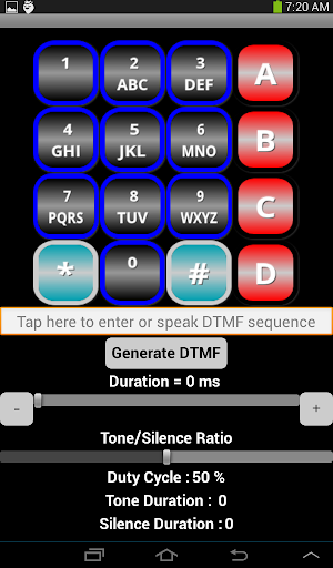 DTMF Pad Tone Generator