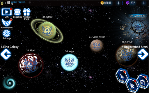 Galaxy Reavers - Starships RTS 1.2.19 androidappsheaven.com 24