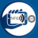 NFC write and read tags icon