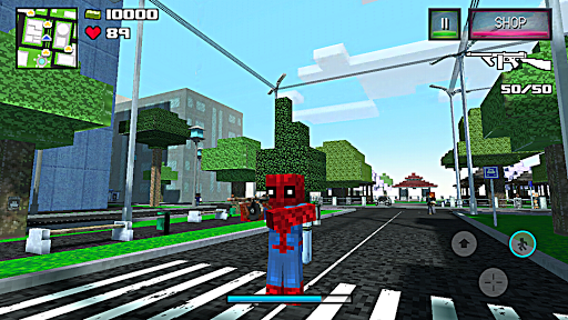 Spider Hero Story - Player Battle Craft  trampa 3