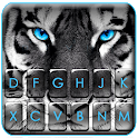 Fierce Tiger Eyes Keyboard Theme icon