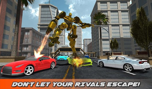 Hummer Transform Robot Fight- screenshot thumbnail