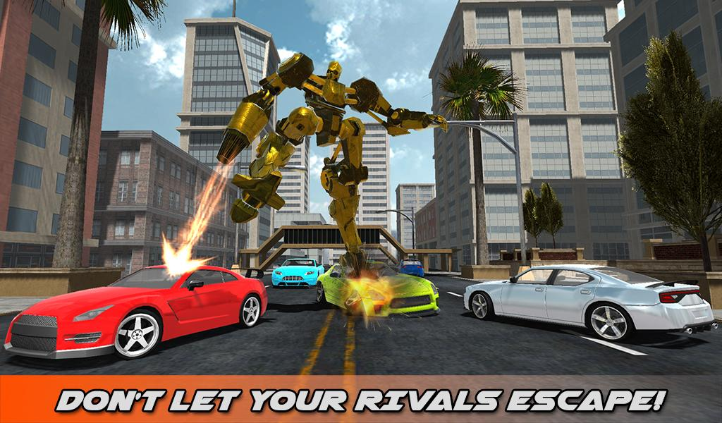 Hummer Transform Robot Fight- screenshot