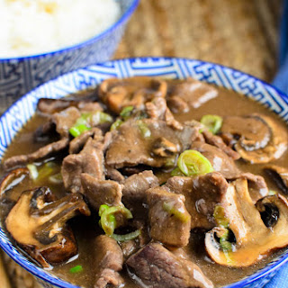 Beef With Mushroom With Oyster Sauce Recipes.