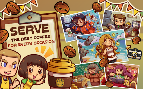 Game Own Coffee Shop: Idle Tap Game APK for Windows Phone