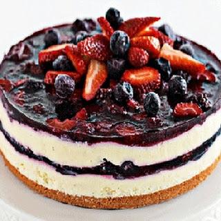 Layered Berry Cheesecake