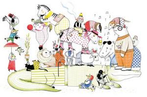 Tranquille comme fossile - blog illustration jeunesse Illustre Albert - éditions HELIUM -