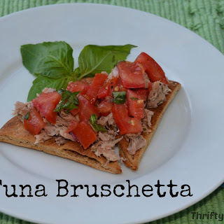 Tuna Bruschetta.