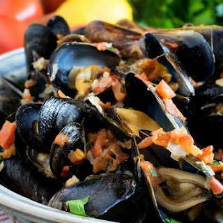 Mussels Garlic Cream Sauce Recipes.
