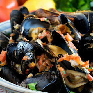 Mussels Garlic Cream Sauce Recipes.