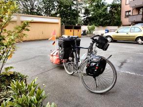 """Photo: ...nach einer tollen Reise, 1400 km und 10,2 kg leichter  um exakt 21:00h """"at home"""". Zur Nachahmung empfohlen!"""