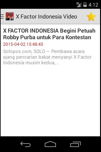 Aksi X Factor Indonesia