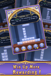 Bible Word  Stack - Free Bible Word Puzzle Games Screenshot