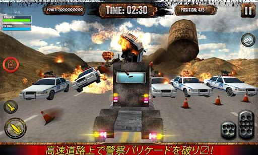 トラックレースドライバー死の戦い