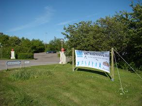 Photo: Banner ved Egelund for BMI - Årets forening 2010