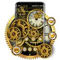 Machine Clock Gear Launcher Theme icon
