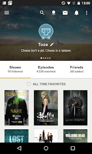 TVShow Time, TV show guide v3.7.2
