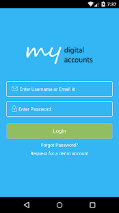 MyDigitalAccounts- screenshot thumbnail