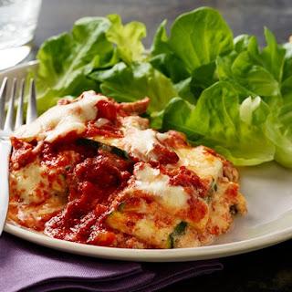 Noodle-less Zucchini Lasagna.
