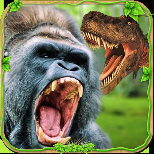 Baixar Furious Gorilla vs Wild Dinosaur para Android
