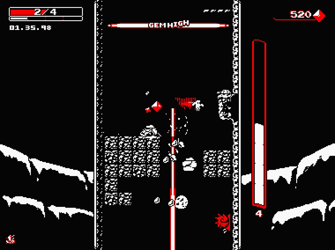 Screenshot Downwell