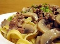Beef A' La Stroganoff Recipe